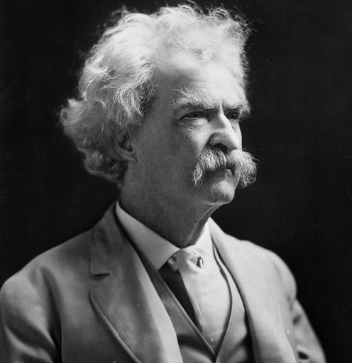 Mark Twain pic license CC0 Creative Commons